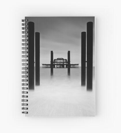 West Pier Spiral Notebook