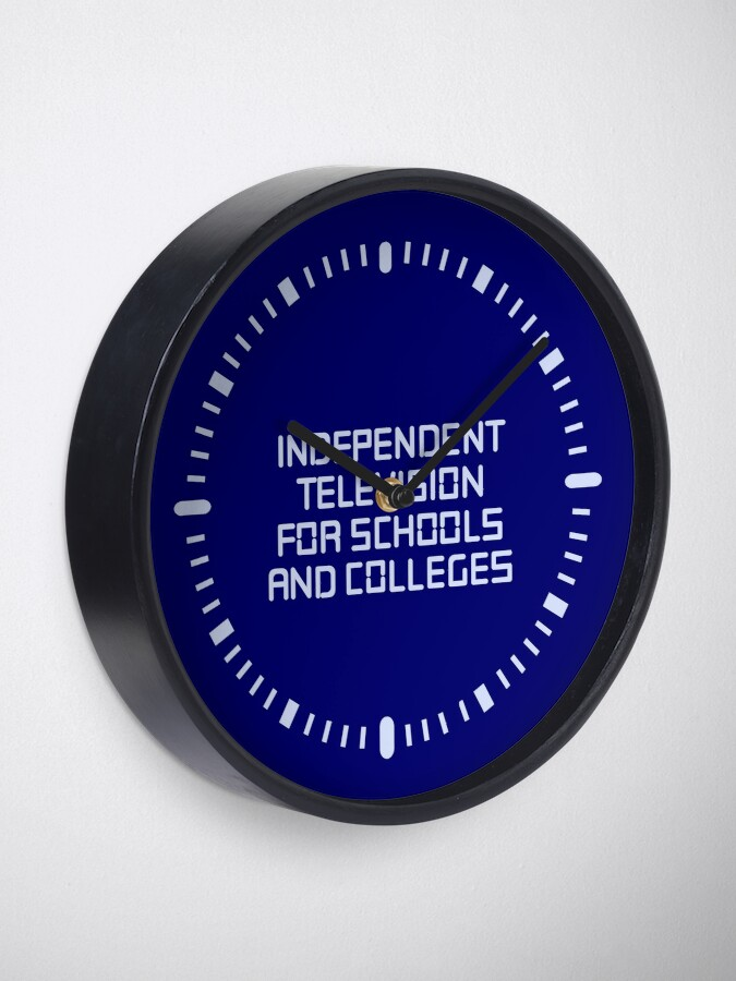 Alternate view of Independent television programmes for schools and colleges clock Clock
