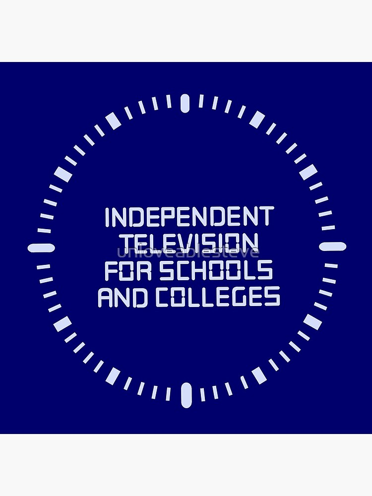 Independent television programmes for schools and colleges clock by unloveablesteve