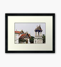 Worshiping with colors Framed Print