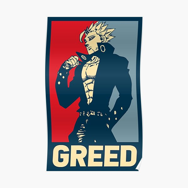 Ban, Sin of Greed Poster