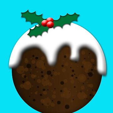 Christmas Pudding by ToneCartoons