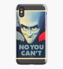 Megamind - Will Ferrell - Obama T-shirt iPhone Case