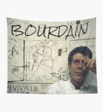 Thank you, Anthony Bourdain  Wall Tapestry