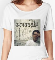 Thank you, Anthony Bourdain  Women's Relaxed Fit T-Shirt
