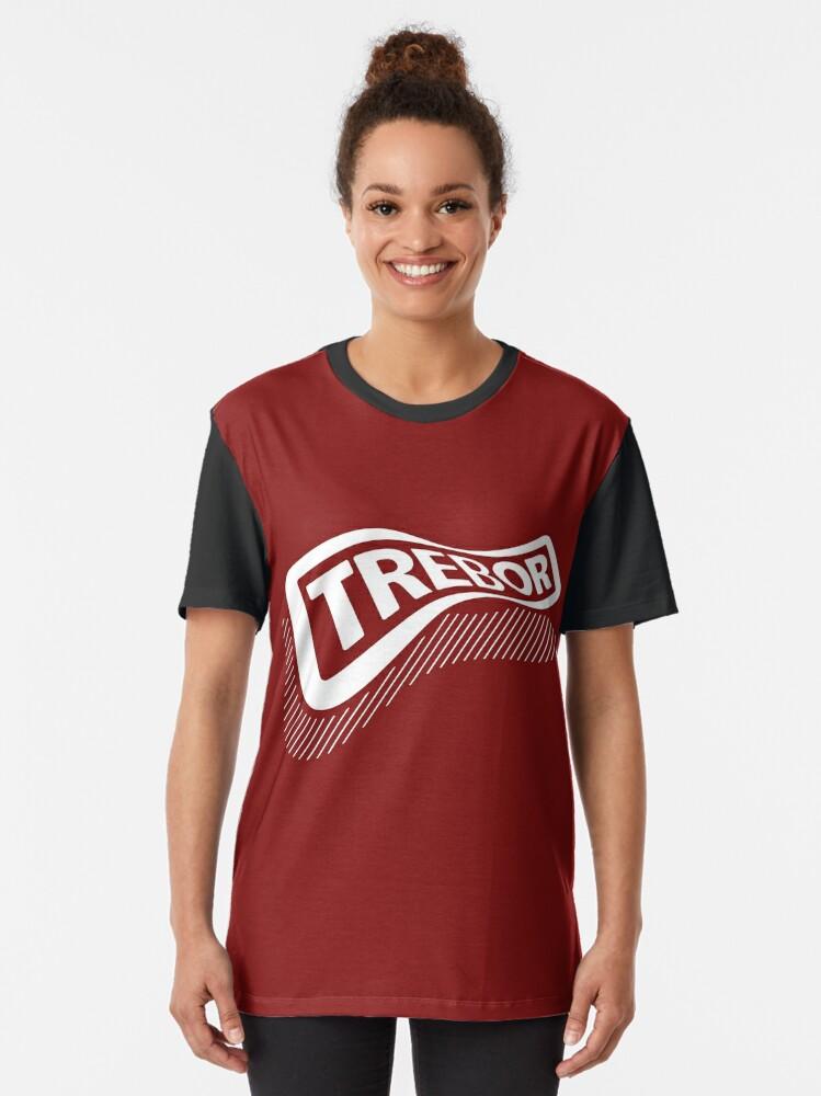 Alternate view of Trebor Graphic T-Shirt