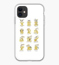 The Twelve signs of the Wabbit Zodiac iPhone Case