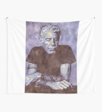 Anthony Bourdain Wall Tapestry