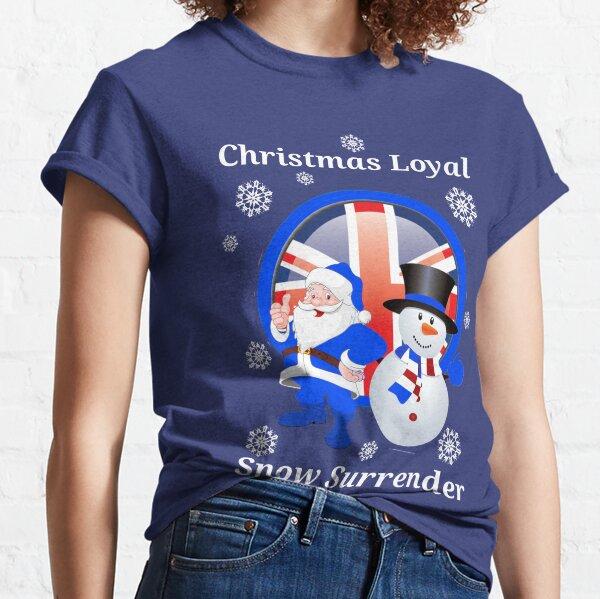 Christmas Loyal Snow Surrender Classic T-Shirt