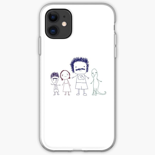 Coach Steve's Best Friends (Transparent Background) iPhone Soft Case