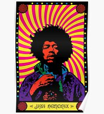 Psychedelic Jimi Poster