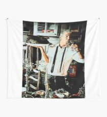 Anthony Bourdain 2 Wall Tapestry