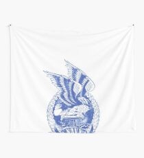 Navy Eagle Military Honor Wall Tapestry