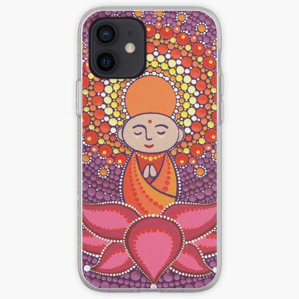 Jizo Meditating upon a Ruby Lotus iPhone Soft Case