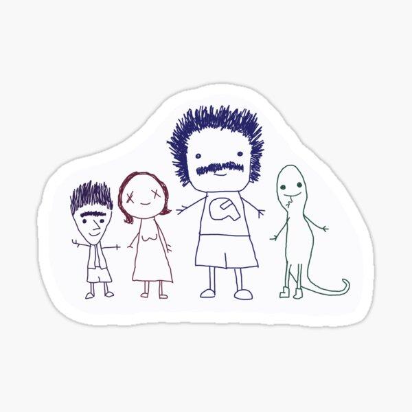 Coach Steve's Best Friends Sticker Sticker