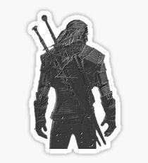 The Witcher Waits Sticker