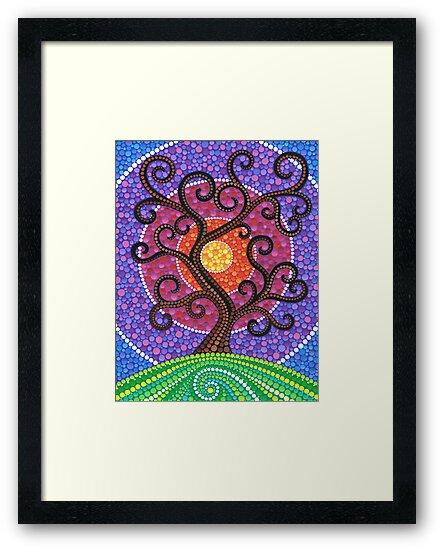 Spiralling Tree of Life by Elspeth McLean