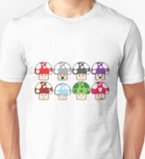 Colourful Mushrooms! T-Shirt