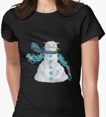 frosty's minion #2... Women's Fitted T-Shirt