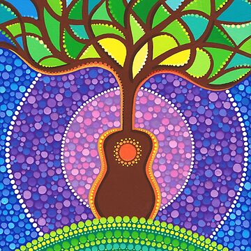 Guitar harmonic energy by ElspethMcLean