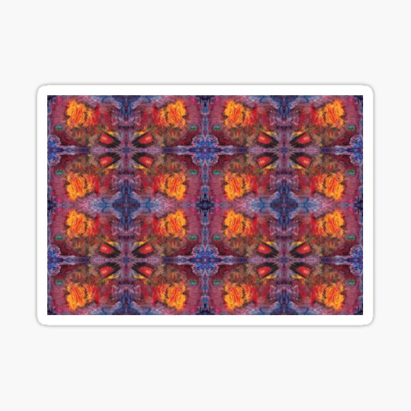 digital patterns - 5.12 tho Sticker