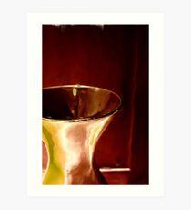 Golden Chalice Art Print