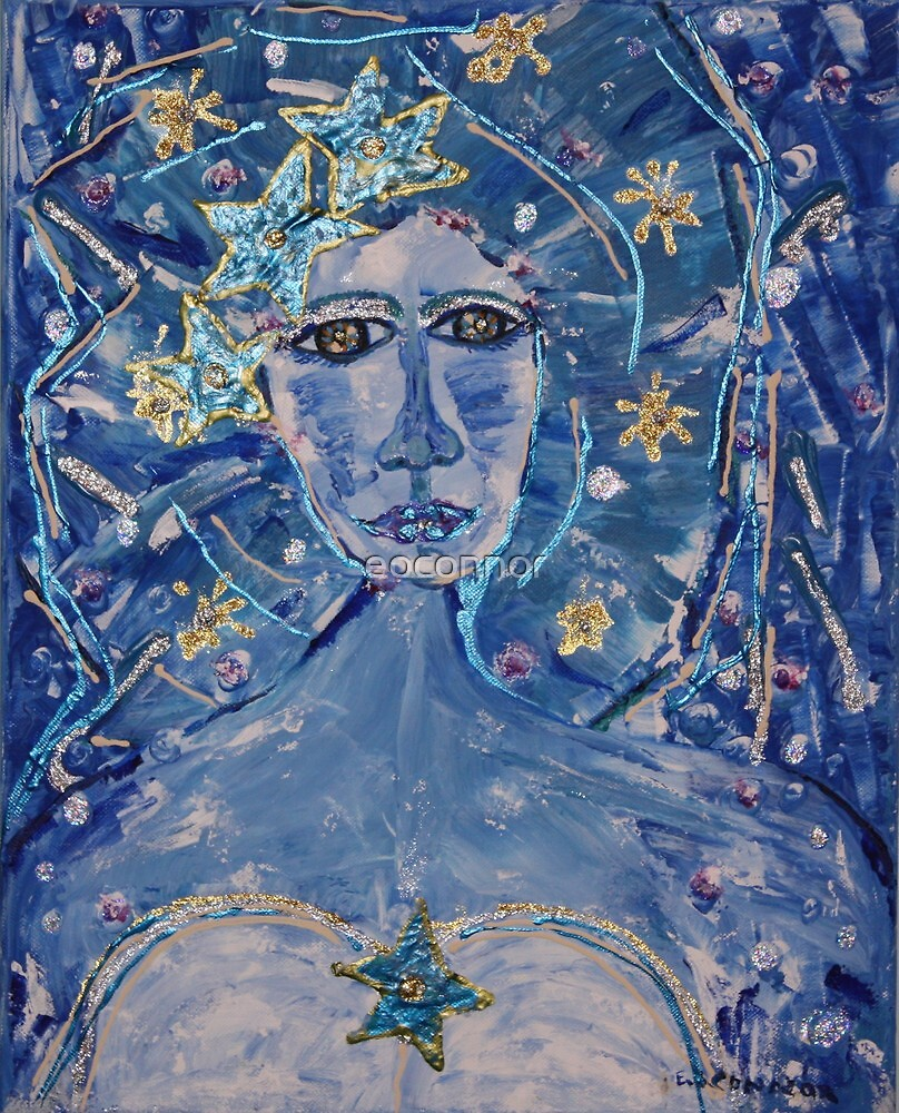 2009  Winter Solstice    16x20 acrylic on canvas by eoconnor
