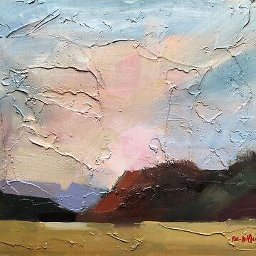 Half Moon Bay ~ oil by rozmcq