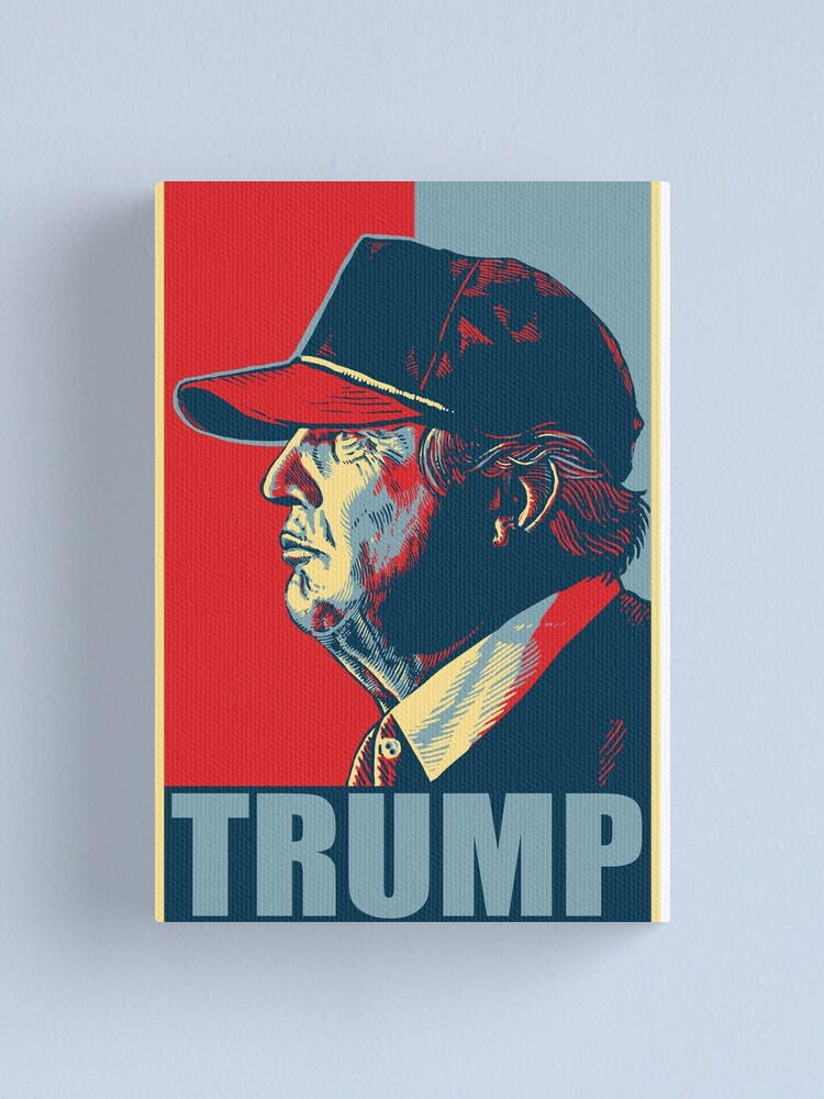 Alternate view of Donald Trump Canvas Print