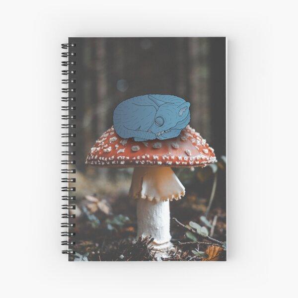 Toadstool Nap Spiral Notebook
