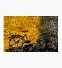 shadow bike 44 Photographic Print