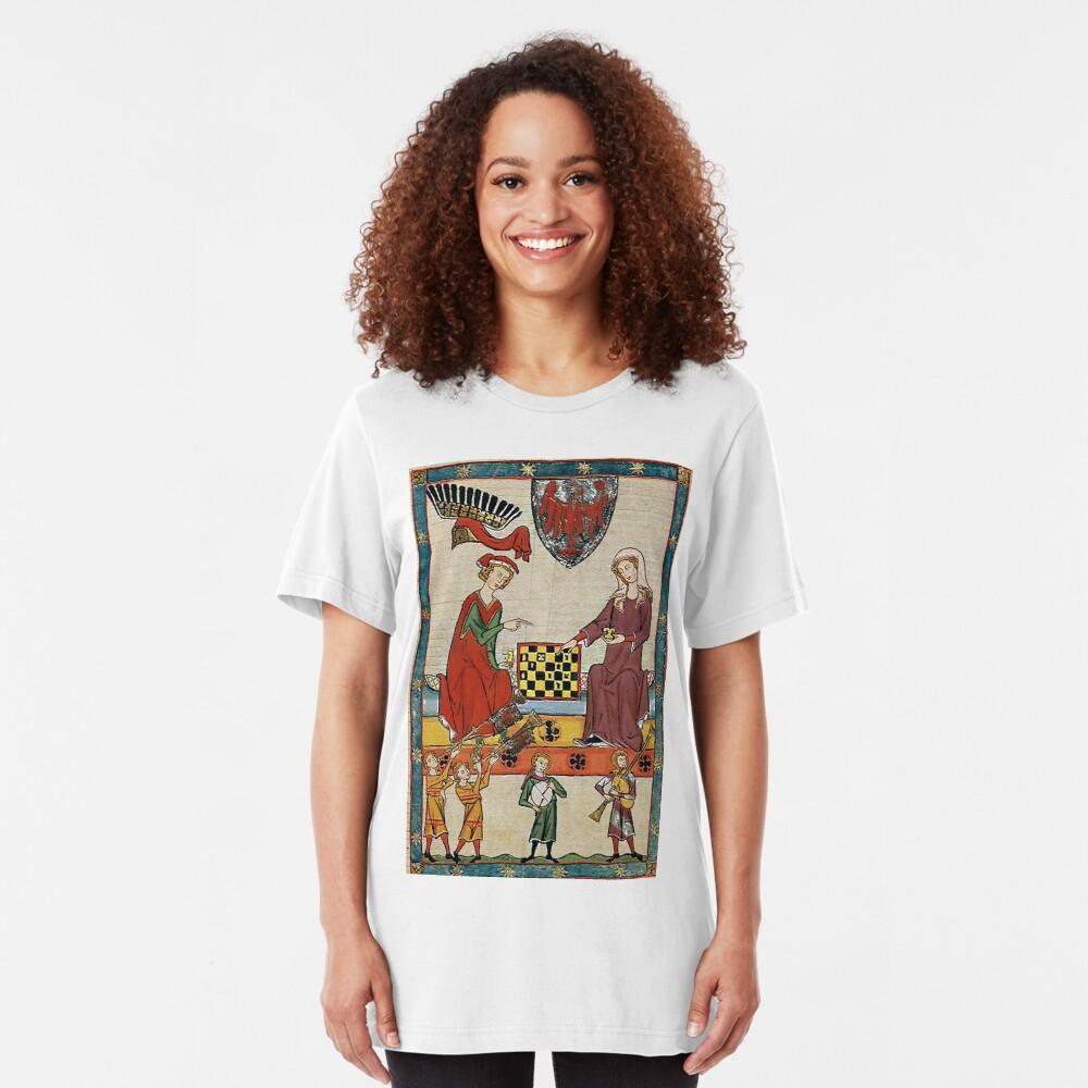 Medieval Boardgame..Markgraf Otto IV. von Brandenburg Slim Fit T-Shirt
