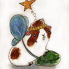 The Christmas guinea pig!  by Edgot Emily Dimov-Gottshall