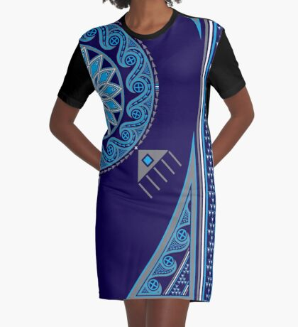 Water Turtle  Graphic T-Shirt Dress