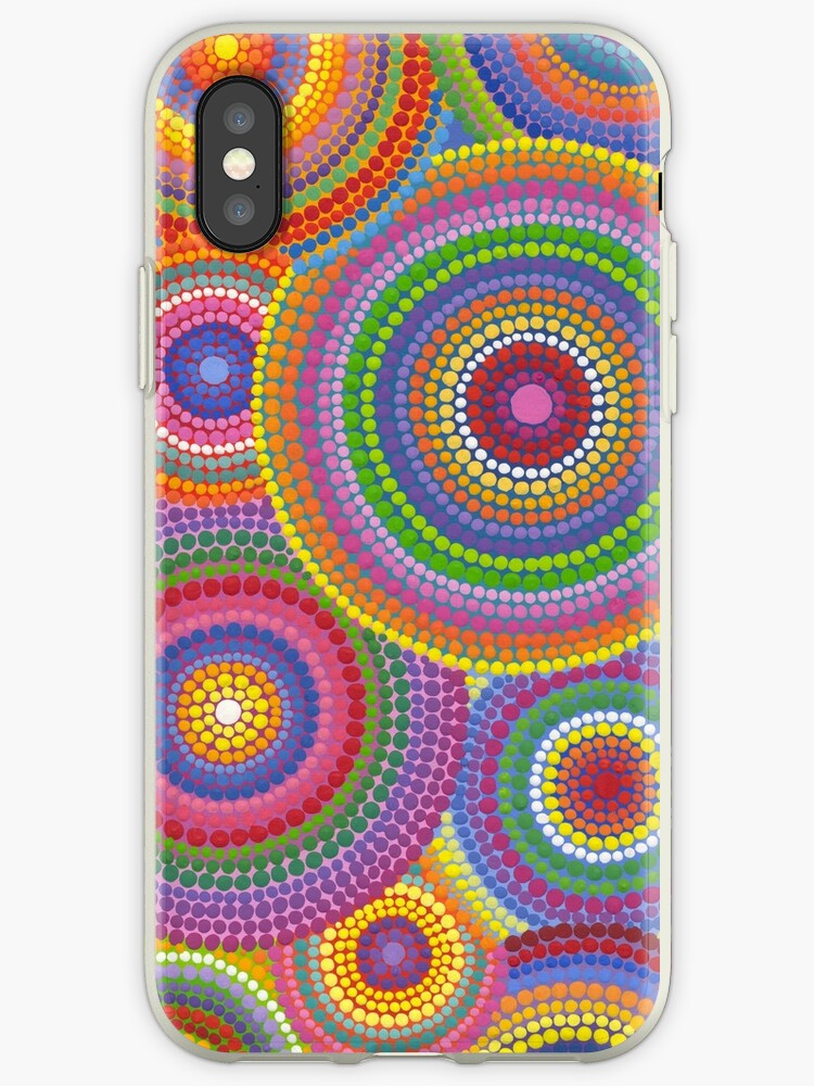 check out bdfae 22c0d 'Cosmically dotti' iPhone Case by Elspeth McLean