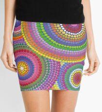 Cosmically dotti Mini Skirt