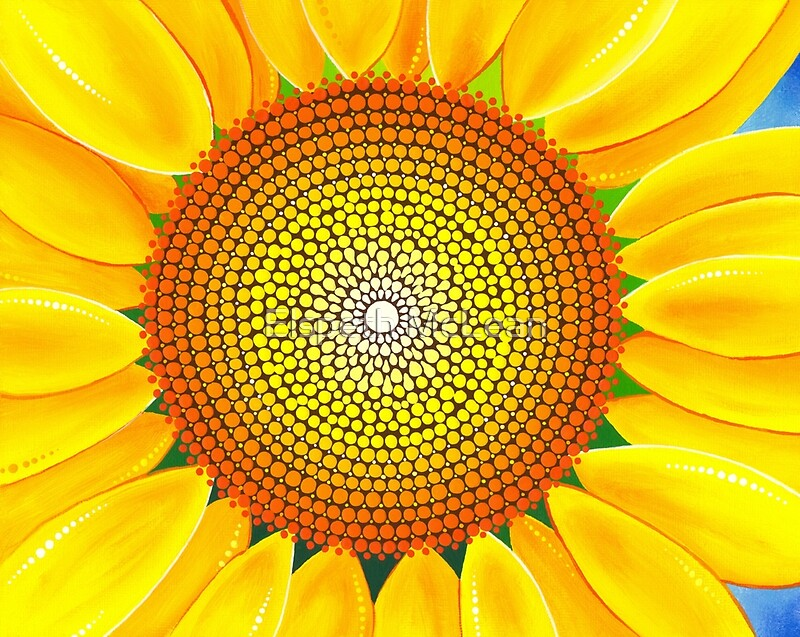 Quot Beautiful Sunflower Of Summer Quot By Elspeth Mclean Redbubble