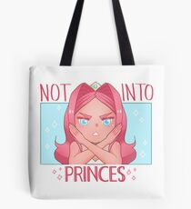 Sapphia is Not Into Princes Tote Bag