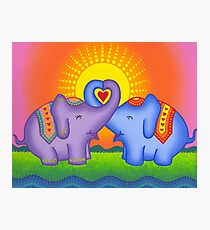 Love at its heartiest Photographic Print