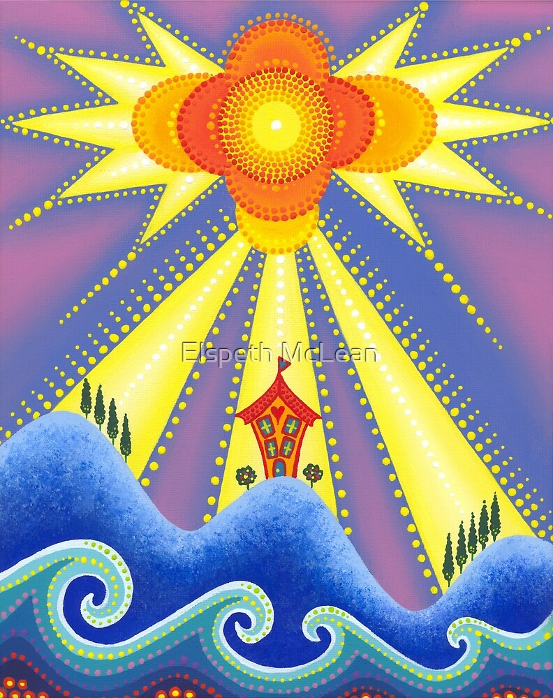 Sun blessed home by Elspeth McLean