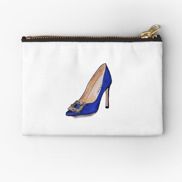 Carrie Bradshaw Manolo Blahnik 'The Wedding Shoe' Zipper Pouch