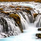 Bruarfoss Waterfall by Adrian Alford Photography