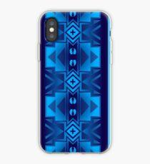 Tatanka Blue Native American Buffalo iPhone Case