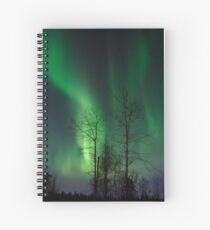 April 12th/11 Northern Light Show Spiral Notebook