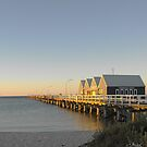 Busselton Jetty at Dusk by JuliaKHarwood