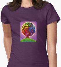 Rainbow Orb Tree of life T-Shirt