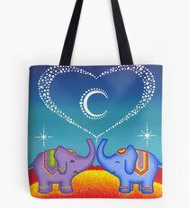 Elephant soul mates Tote Bag
