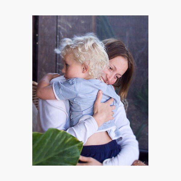 A Mothers Love Photographic Print