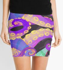 Tentacles Mini Skirt
