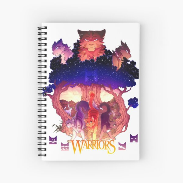 Warriors Series One Spiral Notebook